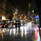 Rua dos Clérigos - noaptea pe ploaie