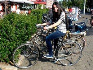 Ada pe bicicletă