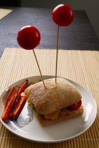 Burger cu antenuțe