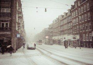 Decembrie 2010 - Ninsoare peste Amsterdam