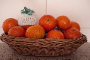 Mandarine cu fes