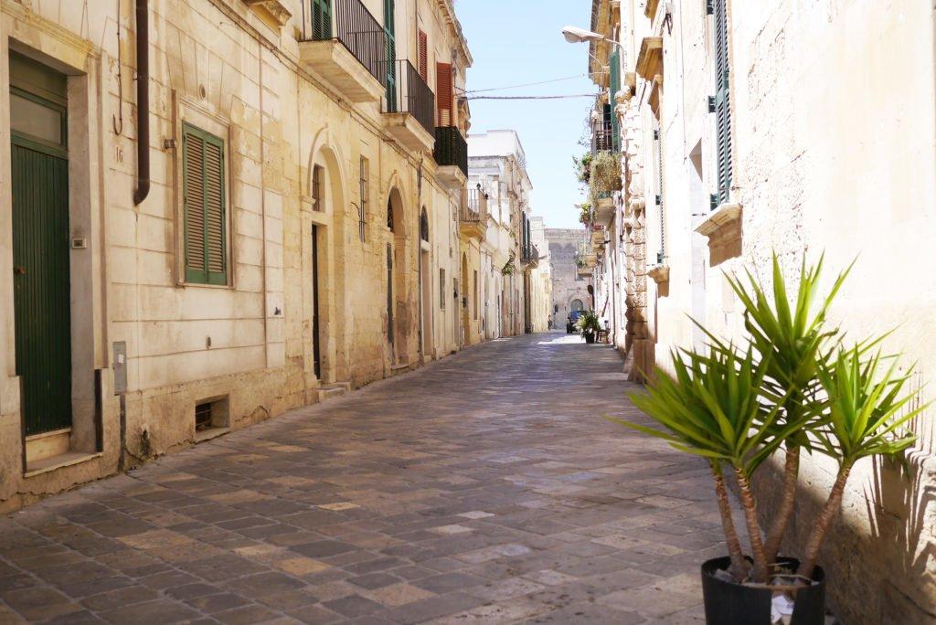 Stradă din Lecce