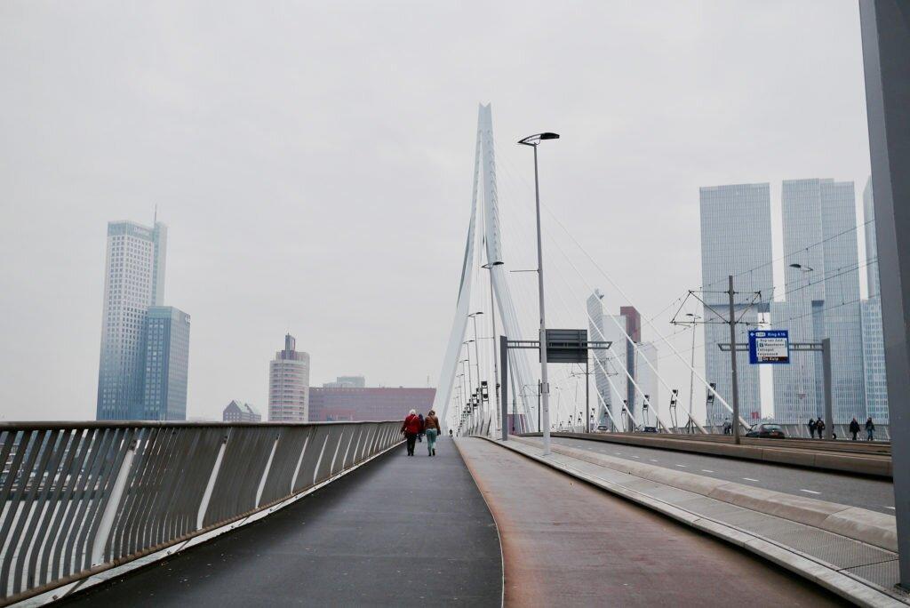 Podul Erasmus, Rotterdam