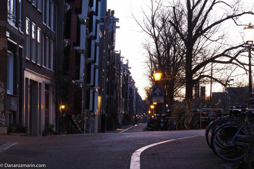 Răsărit de iarnă în Amsterdam 01