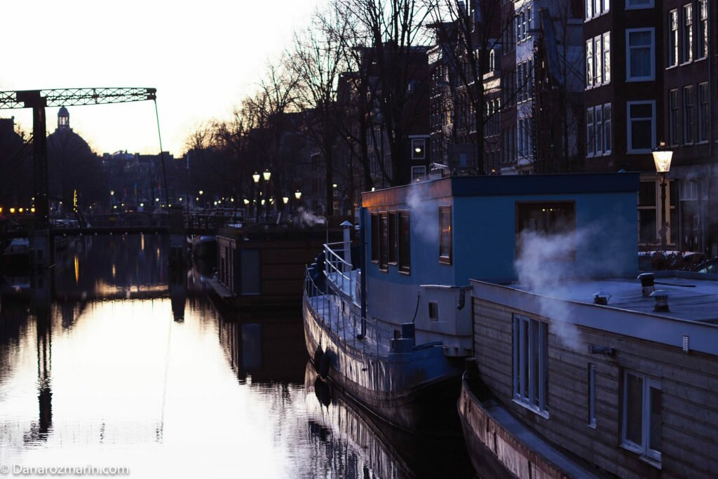 Răsărit de iarnă în Amsterdam 02