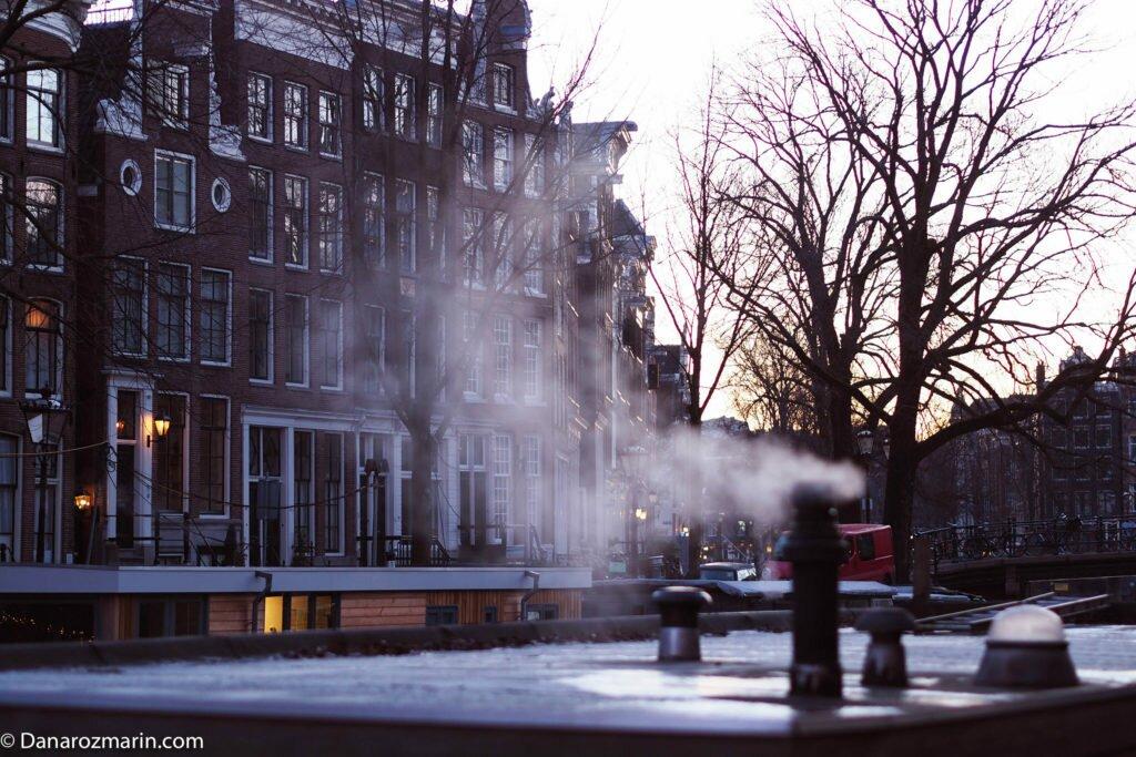 Răsărit de iarnă în Amsterdam 03