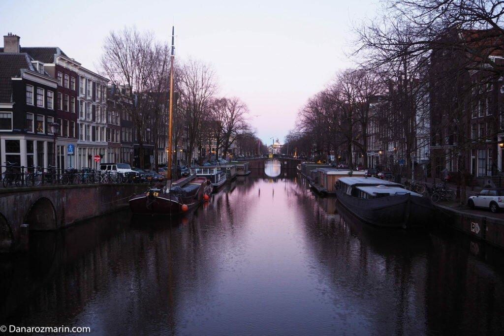 Răsărit de iarnă în Amsterdam 04