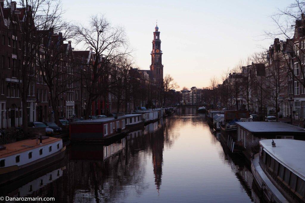 Răsărit de iarnă în Amsterdam 05
