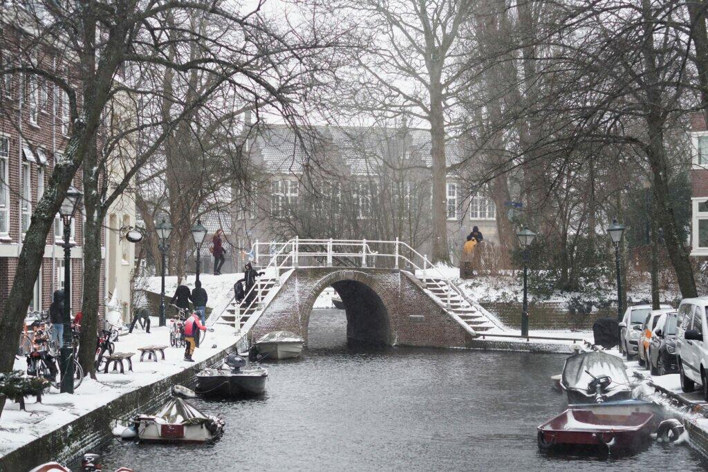 Iarna in Alkmaar 08
