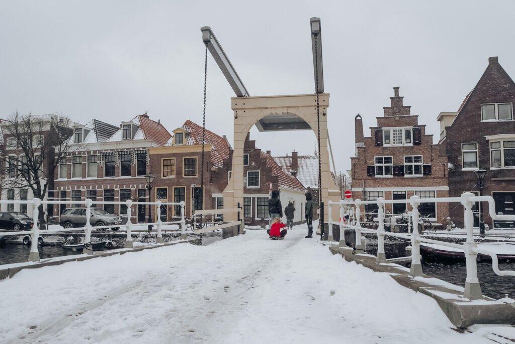 Iarna in Alkmaar 04
