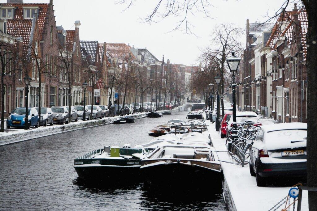 Iarna in Alkmaar 07