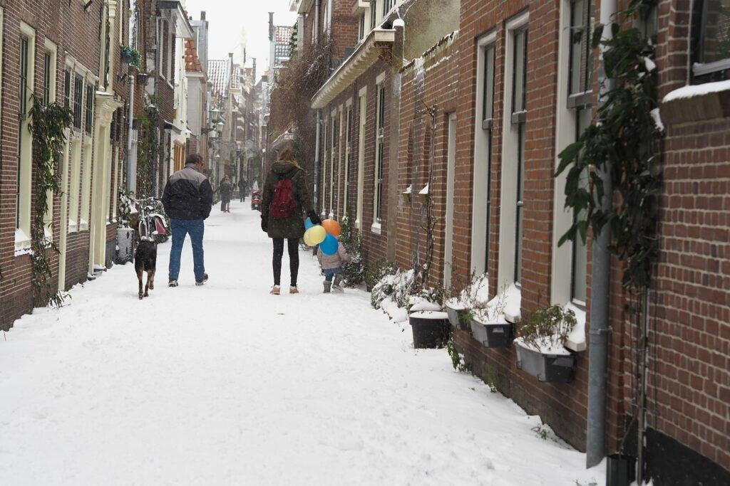 Iarna in Alkmaar 06