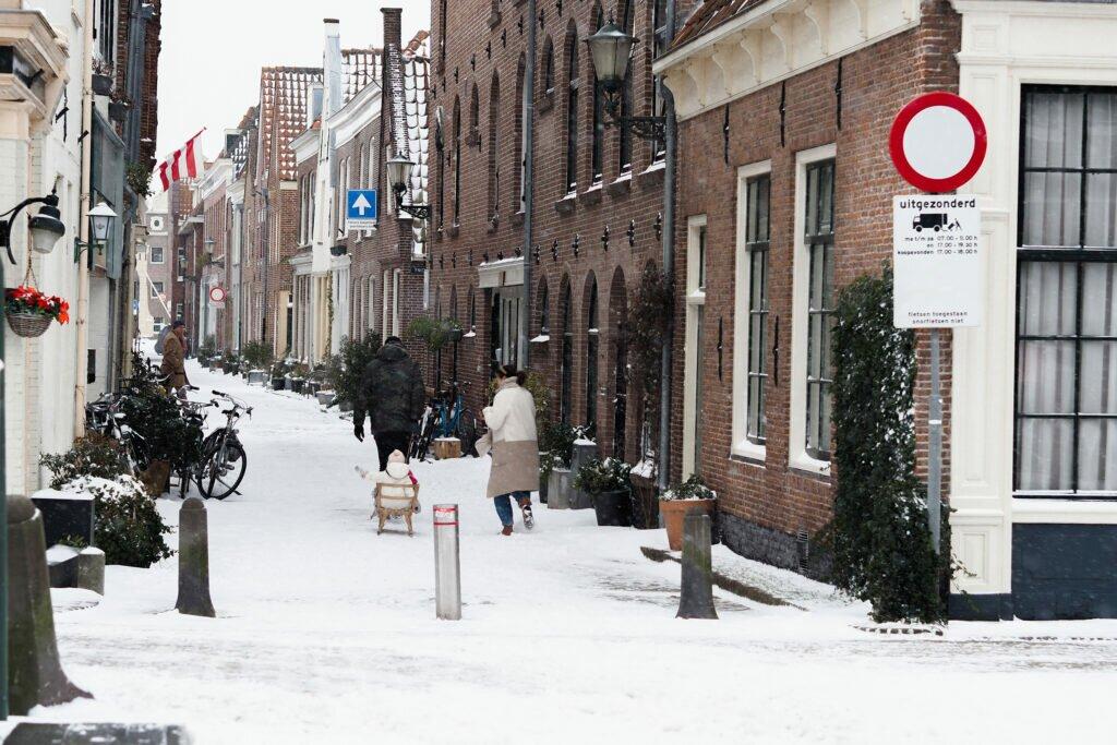 Iarna in Alkmaar 05