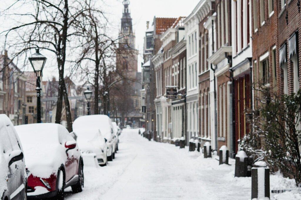Iarna in Alkmaar 01