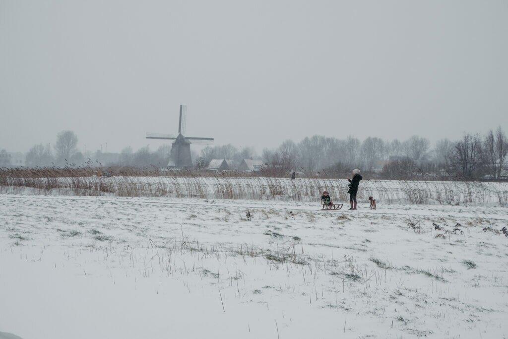 Iarna în Olanda 01