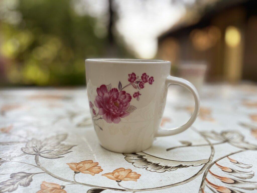 cafea in gradina