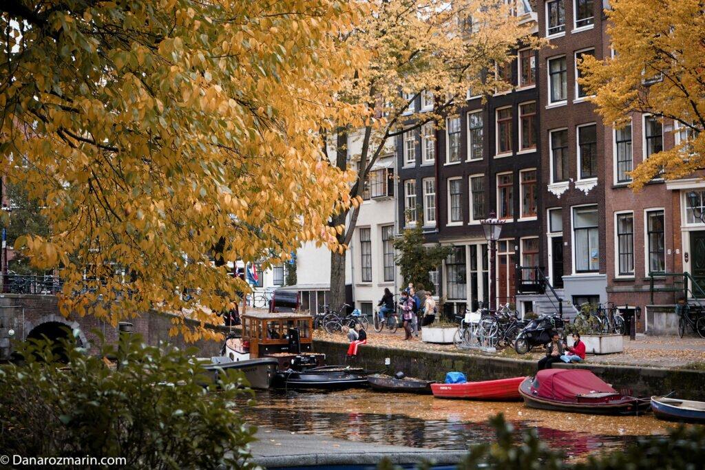 Toamna in Amsterdam