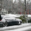 A venit iarna în Amsterdam